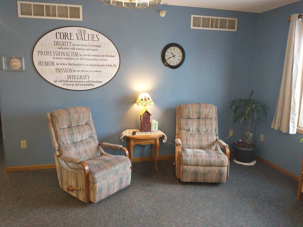 Pine View Assisted Living Common Area